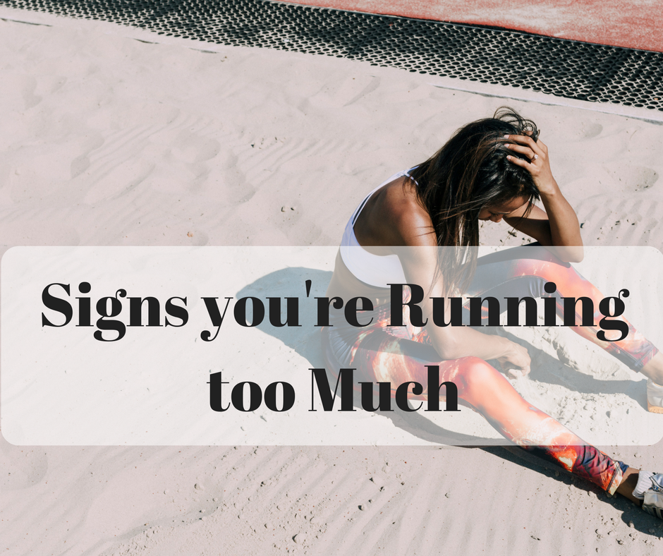 running too much