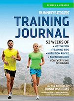 runner's world running log