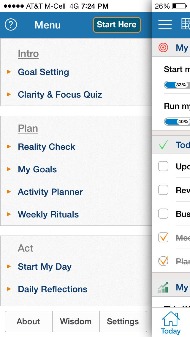 best goal setting apps